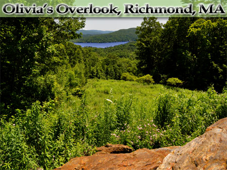 Olivia's Overlook, Richmond, MA - Photo by Tim Grafft/MOTT
