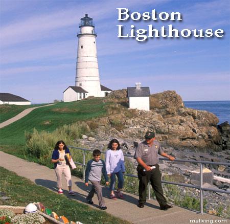 Boston, Massachusetts Lighthouse