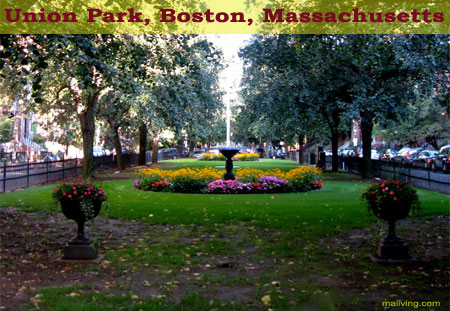 Massachusetts State Parks - Union Park, Boston, Mass.
