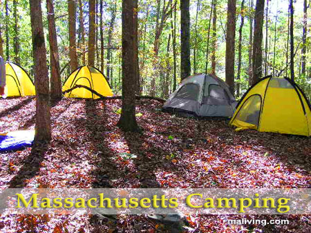 Massachusetts Camping and Campgrounds