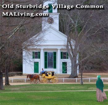 Old Sturbridge Village Common, Massachusetts