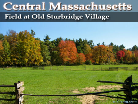 Field at Old Sturbridge Village, Central Massachusetts Retion
