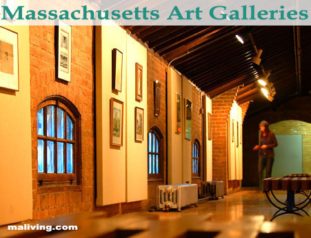 Massachusetts Art Galleries and Art Museums
