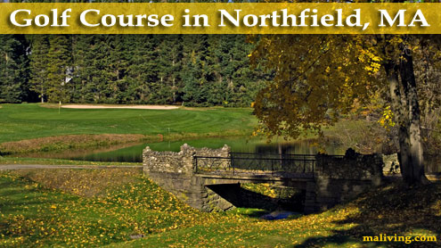 Golf Course in Northfield, MA - Photo by J. Lamorder