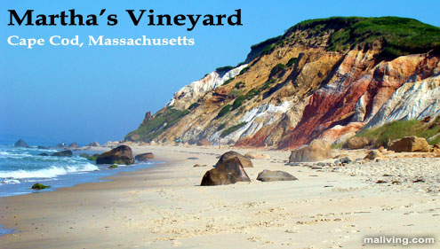Cape Cod Massachusetts, Martha's Vineyard