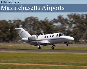 massachusetts airports