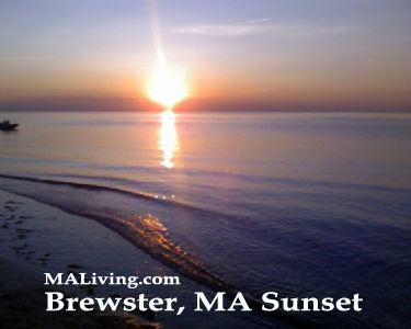 Brewster, MA Sunset - Photo by Melissa