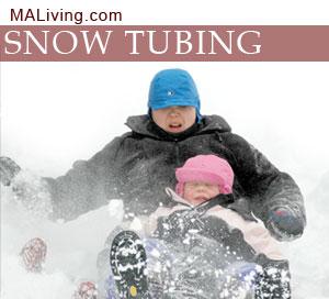 Snow Tubing in Massachusetts
