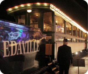 Edaville Festival of Lights Polar Express Massachusetts holiday event
