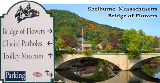 Bridge of Flowers, Shelburne, Massachusetts