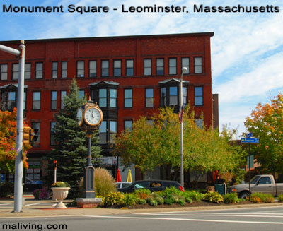 Monument Square, Leominster, Massachusetts