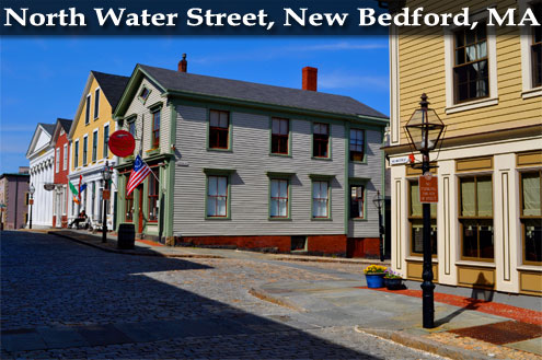 North Water Street, New Bedford, MA - Photo by Tim Grafft