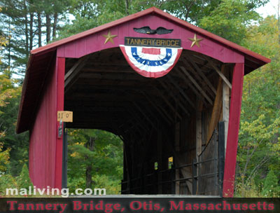 Tannery Bridge, Otis, Massachusetts