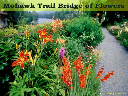 Berkshires Massachusetts State Parks - Mohawk Trail Bridge of Flowers