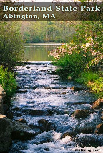 Abington, MA - Borderland State Park