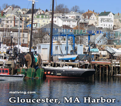 Harbor, Gloucester, MA - Photo R. Hendrickson
