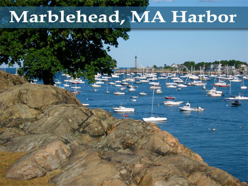 Marblehead, MA Harbor - Photo by Tim Grafft/MOTT