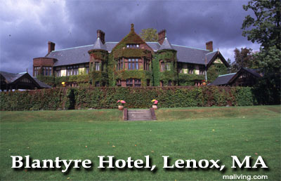 Blantyre Hotelm, Lenox, MA