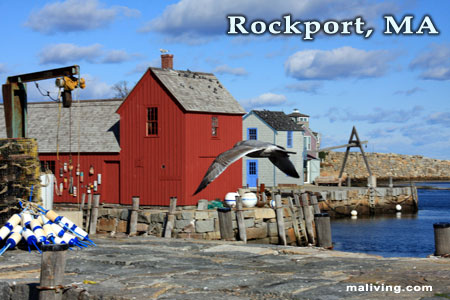 Rockport, MA Harbor - Photo by R. Hendrickson