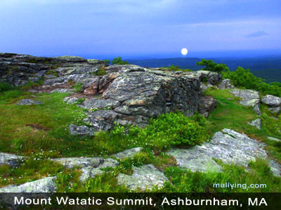 Views from Mount Watatic's Summit,  Ashburnham, MA