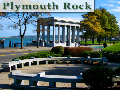 Plymouth Rock, Plymouth, MA - Photo by Tim Grafft/MOTT