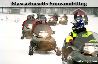 Massachusetts Snowmobiling