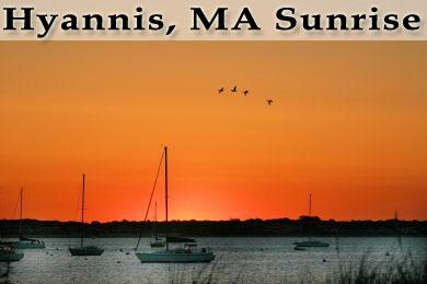 Hyannis, MA Sunrise