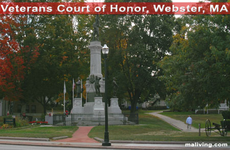 Veterans Court of Honor - Webseter, Massachusetts