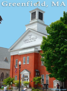 Greenfield MASS town hall